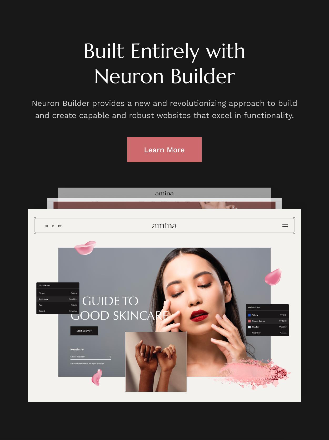 Amina - Beauty and Skincare Shop