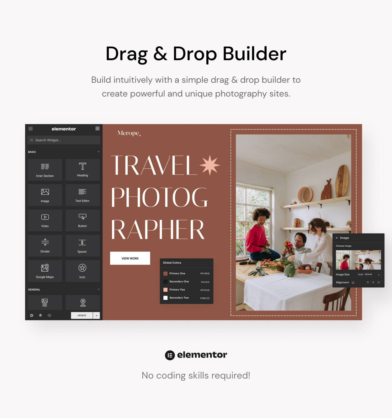 Merope - Photography WordPress Theme